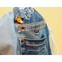 Plecak jeans
