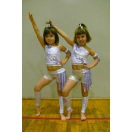 Strój disco dance duet